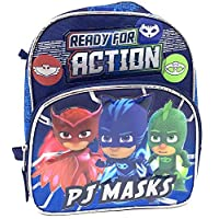PJ Masks Catboy Gekko Owlette Toddler Mini 10 inches backpack- Ready For Action