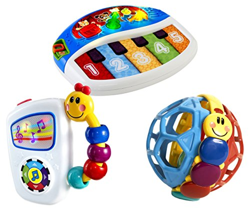 Baby Einstein Discover and Play Piano with Take Along Tunes & Bendy Ball