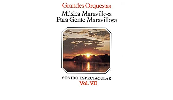 Amazon.com: Música Maravillosa para Gente Maravillosa Grandes Orquestas Vol. VII: Various artists: MP3 Downloads