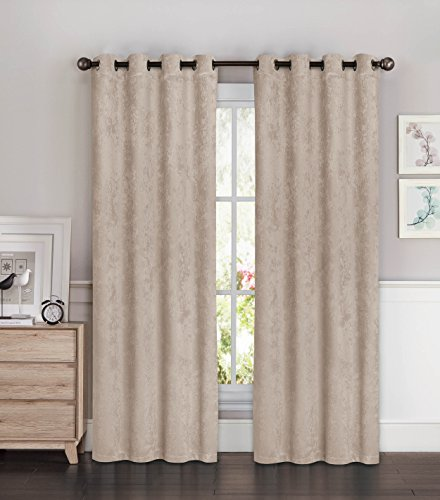 extra wide grommet curtains - 5
