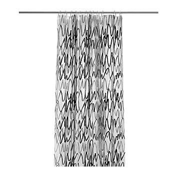Duschvorhang Ikea ikea fjärdgrund duschvorhang wasser abweisend amazon de küche