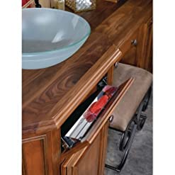 Kitchen Rev-A-Shelf 13in Slim Line Stainless Steel Tip-Out Tray (hinge sold separately) tip-out trays