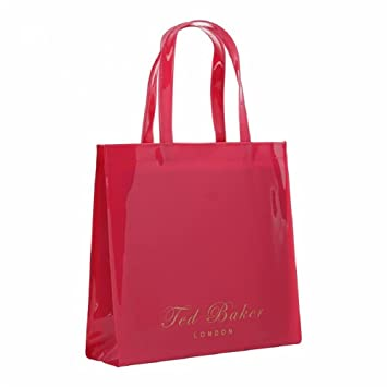 1a1af44fe9c7 Buy Ted Baker Large Icon Tote Bag in Fuchsia Online at Low Prices in India  - Amazon.in