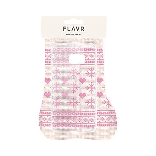 """FLAVR 27388 Weihnachts Schutzhülle """"Ugly Xmas Sweater"""" für Samsung Galaxy S7 rosa"""