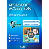 Microsoft Access 2016 Training Course For Beginners: Essential Training