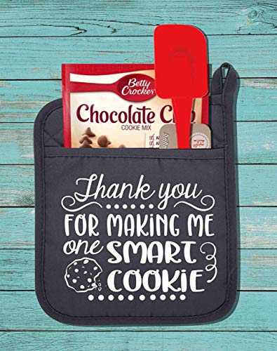 Thank You For Making Me A Smart Cookie Pot Holder Kit-Teacher Gift