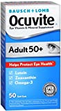 Bausch & Lomb Ocuvite Adult 50+ Eye Vitamin & Mineral Softgels 50 ea (Pack of 12)