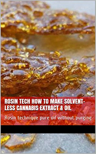 Rosin Tech How To Make Solvent-less Cannabis Extract & Oil: Rosin technique pure oil without purging