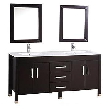 Mtd Vanities Monaco 84 Monaco Double Sink Bathroom Vanity Set 84 Quot Espresso