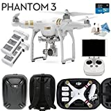 DJI Phantom 3 Professional Bundle - w/ eDigitalUSA  Includes HARD SHELL CASE - SPARE BATTERY + Card Reader + more...