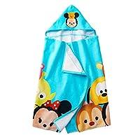 Tsum Tsum Hooded Towel Girls Bath Towel 25x50