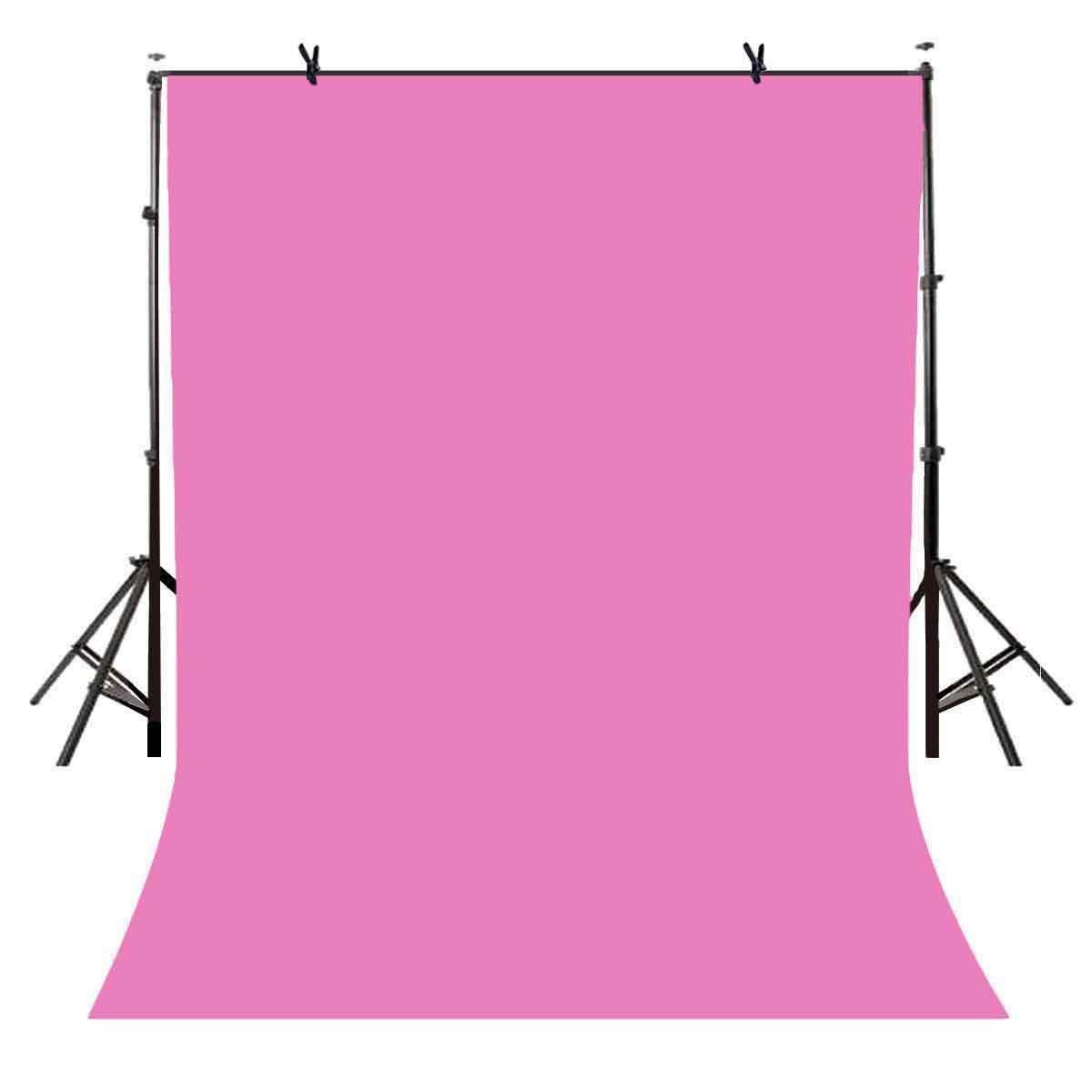 LYLYCTY 5x7ft Photography Studio Non-woven Backdrop Millennium Pink Backdrop Solid Color Backdrop Simple Background LY091