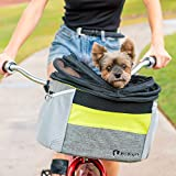 Pet Peddler Dog Bike Basket Pet Travel Carrier for Carrying Dog or Cat on Bicycle