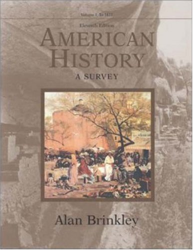 American History, Volume 1, MP w/PowerWeb