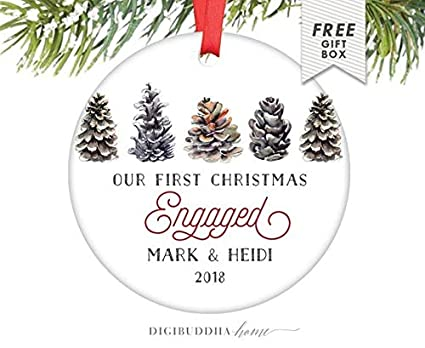 Joanna Engagement Ornaments Engagement Gifts for Her, Farmhouse Decor  Christmas Ornament Engaged Woodland Christmas Our - Amazon.com: Joanna Engagement Ornaments Engagement Gifts For Her