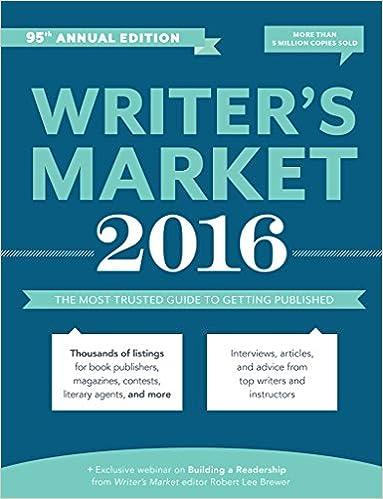 Writer's Marketing 2016