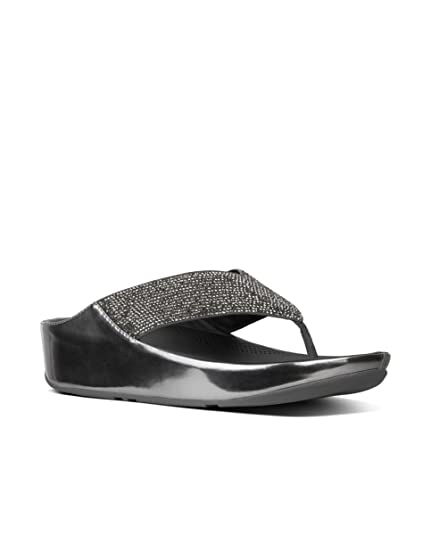 4b7fc370d557 Fitflop Women s Crystall Tm Open Toe Sandals  Amazon.co.uk  Shoes   Bags
