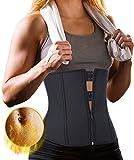 Product review for Gotoly Women's Neoprene Zipper Waist Trainer Sauna Gym Hot Sweat Tummy Fat Burner