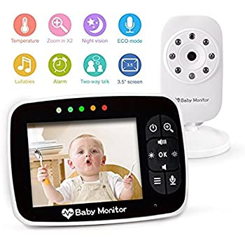 Amazon.com : Baby Monitor, Video Baby Monitor with Night