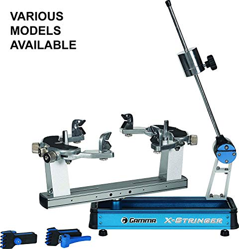 Gamma 5003 Stringing Machine - Gamma X-6 Racquet Stringing Machine: X-Stringer X-6 Tennis String Machine with Stringing Tools and Accessories - Tennis, Squash and Badminton Racket Stringer - Tabletop Racket Restring Machines