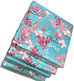40-ct 13x13 Magnolia Napkins   Blue Floral Napkins