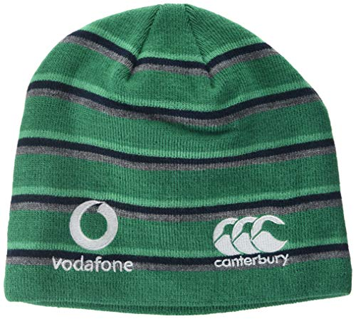 Canterbury Ireland Rugby Fleece Lined Beanie, Bosphorus