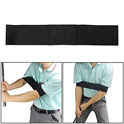 Delight eShop Golf Arm Motion Correction Belt Training Aid New Analyzer Club Grip Practice