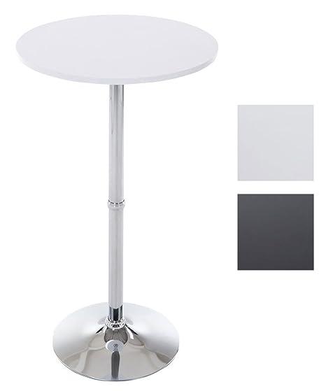 Clp Tavolino Tondo Da Bar Tavolino Alto Da Appoggio Con Superficie
