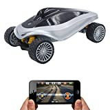 LONPOO Wifi Controlled Spy Rover RC Tank HD Baby Monitor SPY Car APP Control Movement Motion IP Camera Home Remote Camera Vehicles With Camera Control By Ios/Android Device Remote