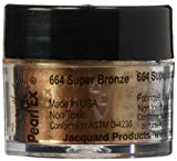 Jacquard Products Jacquard Pearl Ex Powdered Pigments, 3g, Metallics/Super Bronze