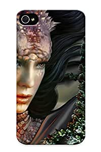 High-quality Durable Protection Case For Iphone 4/4s(elf Girl ) For New Year's Day's Gift