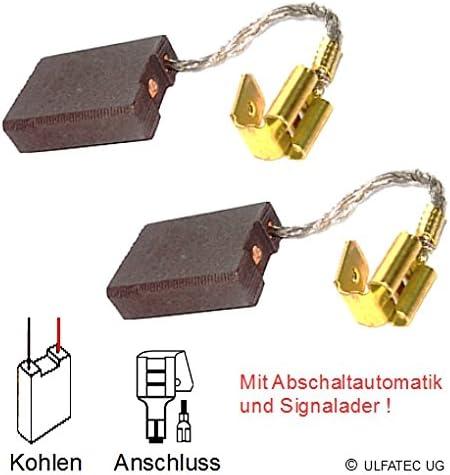 2225 DD 200-6,3x16x22mm ULFATEC /® Kohleb/ürsten Motorkohlen HILTI DD 160