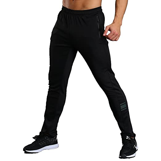 cde0ef1afac CLOUSPO Men's Casual Jogger Pants Sweatpants Bodybuilding Trousers for  Athletic Jogging Workout Gym Running Training