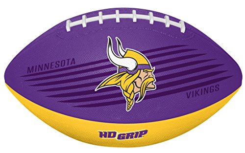- Rawlings NFL Minnesota Vikings 07731075111NFL Downfield Football (All Team Options), Purple, Youth