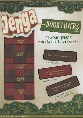 Jenga Book Book Book Lovers Edition [Spiel in Englisch] 591c05