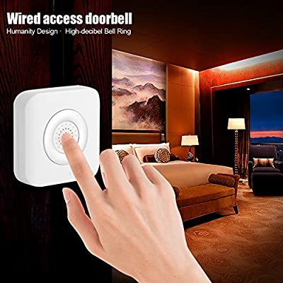 Zerodis DC 12V Wired Doorbell Door Bell Chime Home Office Access Control System