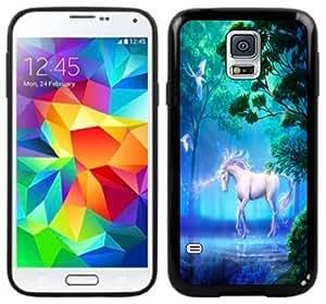 Unicorn Fantasy Handmade Samsung Galaxy S5 Black Case