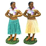 "Man in Dancing Pose Hula Dashboard Doll 7"""