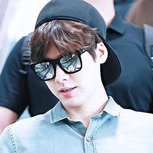 de la señoras UV400 negro lente para sol C HONEY del polarizadas hombre C Gafas de protectoras Color Ladies Unisex estilo qY1q8Xp