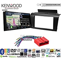 Volunteer Audio Kenwood Excelon DNX994S Double Din Radio Install Kit with GPS Navigation Apple CarPlay Android Auto Fits 2004-2009 Mazda 3