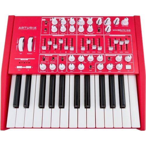 Ash Keyboard Sam (Arturia Minibrute RED Synthesizer)