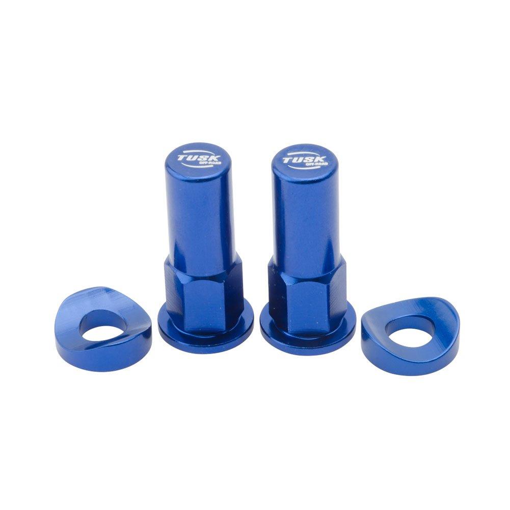 Tusk Rim Lock Nut/Spacer Kit Blue - Fits: Honda CRF250F 2019