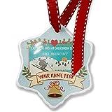 Add Your Own Custom Name, Easton Ski Area at Eaglebrook School Ski Resort - Massachusetts Ski Resort Christmas Ornament NEONBLOND