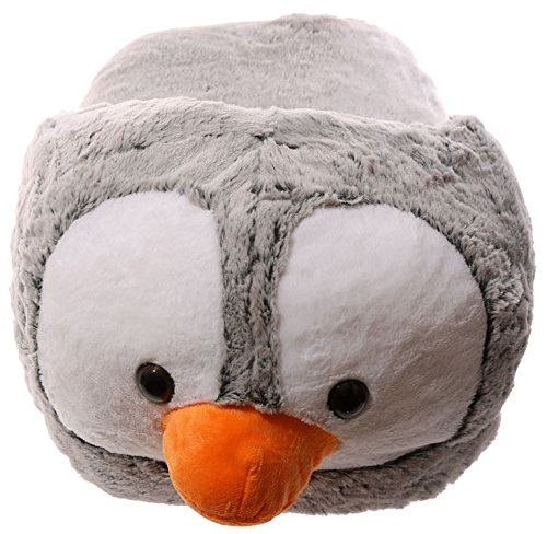 Funky en peluche Pantoufle de Maxi–Pingouin
