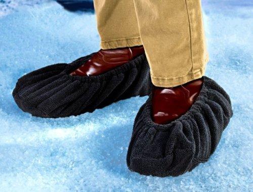 Schuh Überzieher Gästepantoffeln Bodenschutz Schutz Schuhe Überzieher Hausschuhe Gr. L 42 47