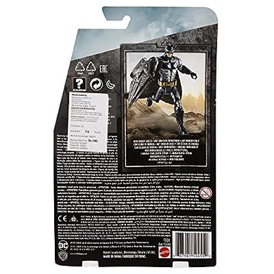 DC Justice League Tactical Armor Batman Figure, 6