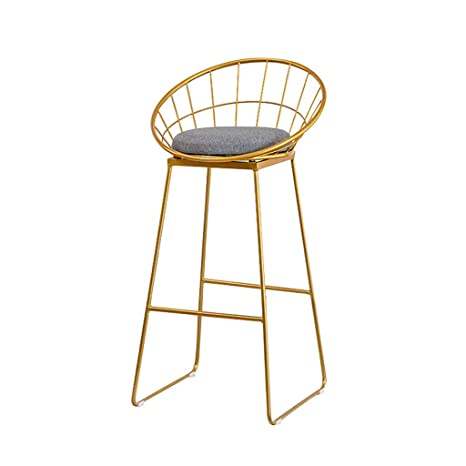 Admirable Amazon Com Iron Bar Stool Yet 30 Inch Gold Bar Stool Dailytribune Chair Design For Home Dailytribuneorg