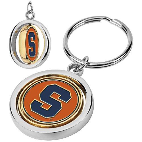 NCAA Syracuse Orange - Spinner Key Chain (Orange Keychain Syracuse)