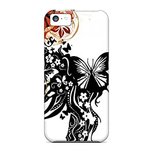 Brand New 5c Defender Case For Iphone (flowering)