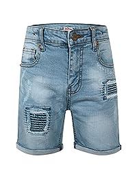 A2Z 4 Kids®® Kids Boys Shorts Denim Ripped Light Blue Chino Bermuda Jeans Short Knee Length